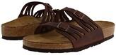 Birkenstock Granada Soft Footbed (Habana Oiled Leather) Women's Sandals
