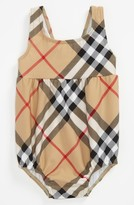 Burberry 'Suzanna' One Piece Swimsuit (Infant)