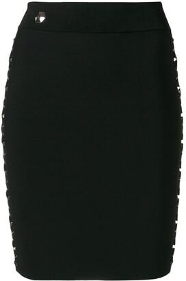 Philipp Plein Laced Style skirt