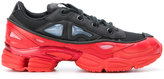 Adidas By Raf Simons Black Red Ozweego III Trainers