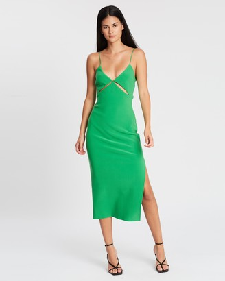 Bec & Bridge Emerald Avenue Midi Dress