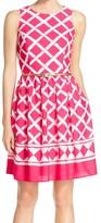 Eliza J Women's Sleeveless Keyhole Back Dress
