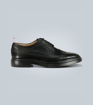 Thom Browne Exclusive to Mytheresa high-shine leather longwing brogues