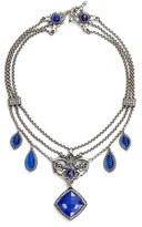 Konstantino Women's Andromeda Lapis Frontal Necklace