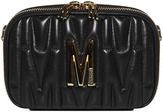 Moschino M Quilted Waist Bag