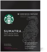 Starbucks VerismoTM 12-Count Sumatra Single Origin Brewed Coffee Pods