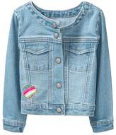 Crazy 8 Embroidered Denim Jacket