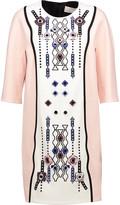 Peter Pilotto Atari embellished cady dress