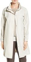 Eileen Fisher Women's Stand Collar Long Jacket