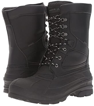Kamik Nationpro (Black) Men's Waterproof Boots