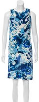 Etro Abstract Print Knee-Length Dress