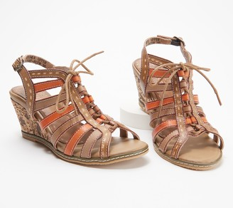 Spring Step L'Artiste by Leather Slingback Sandals- Quinne