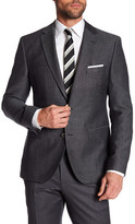 HUGO BOSS Jeen Two Button Notch Lapel Trim Fit Jacket