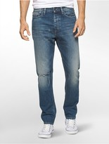 Calvin Klein Tapered Leg Medium Wash Jeans
