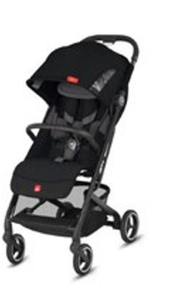 GB Qbit Plus All-City Stroller. Velvet Black