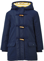 John Lewis Girls' Jersey Lined Mac Coat