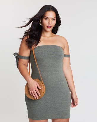 Atmos & Here Keeks Textured Mini Dress