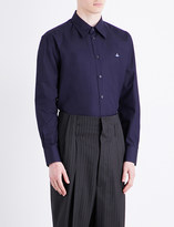 Vivienne Westwood Cutaway collar classic-fit cotton shirt