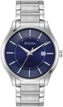 Bulova Classic Stainless Steel Analog Watch