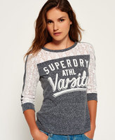 Superdry Lace Football Top