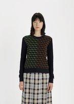 Maison Margiela Clash Jacquard Sweater