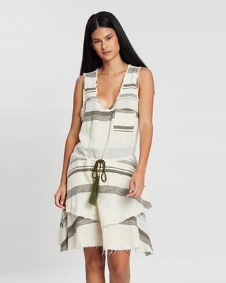 Ginger & Smart Retreat Drawstring Dress