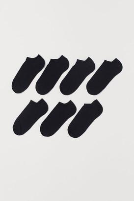 H&M 7-pack Ankle Socks