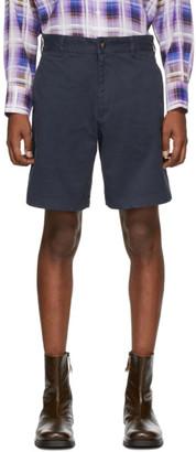 Noah NYC Black Military Shorts