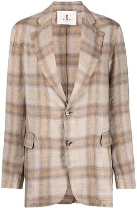 Barena Gid check-pattern blazer