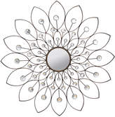 Asstd National Brand Stratton Home Dcor Decorative Flower Mirror