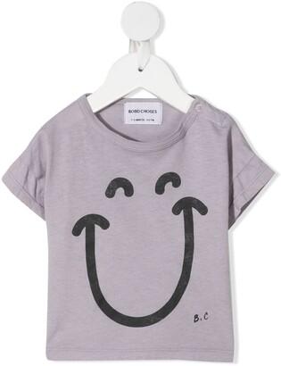 Bobo Choses smiley print T-shirt