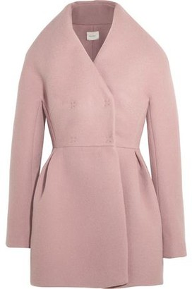 DELPOZO Wool And Mohair-blend Coat
