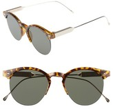 Spitfire Women's Astro 50Mm Retro Sunglasses - Tortoise/ Gold/ Black