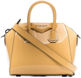 Givenchy Antigona patent-leather mini bag