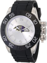Game Time Men's NFL-BEA-BAL Beast Round Analog Watch