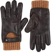Christophe Fenwick Men's Le Mans Cashmere-Lined Leather Gloves