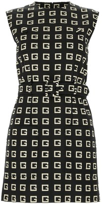 Gucci All Over Print Dress
