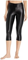 Koral Lustrous High-Rise Capris (Black) Women's Casual Pants