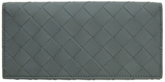 Bottega Veneta Grey Intrecciato Continental Wallet
