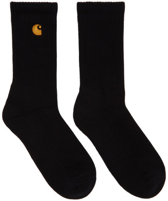 Carhartt Work In Progress Black Chase Socks