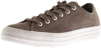 Converse Chuck Taylor OX Leather Trainers Brown