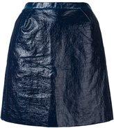DELPOZO angular fitted skirt