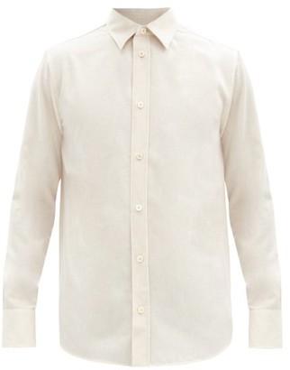 The Row Robin Cashmere Shirt - Beige