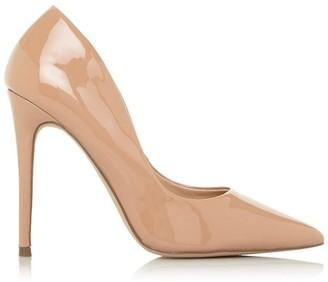 aimees black point-toe court shoe