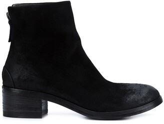 Marsèll Rear Zip Ankle Boots