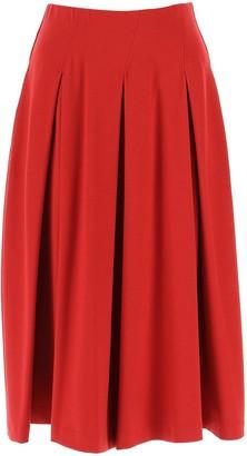 Max Mara A-Line Midi Skirt