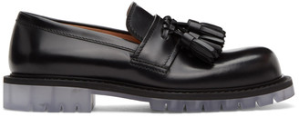 Bottega Veneta Black Tassel Loafers