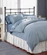 L.L. Bean L.L.Bean Ultrasoft Comfort Flannel Comforter Cover, Gingham