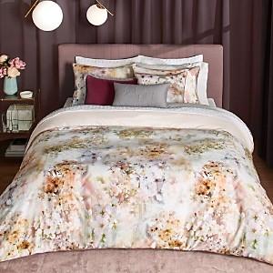 Ted Baker Vanilla Floral Cotton Duvet Cover Set, Full/Queen