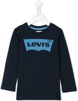 Levi's Kids - logo print top - kids - Cotton - 4 yrs